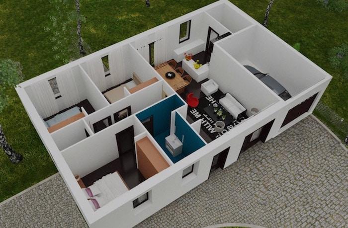 Constructeur de maisons individuelles petit prix for Le prix des maisons